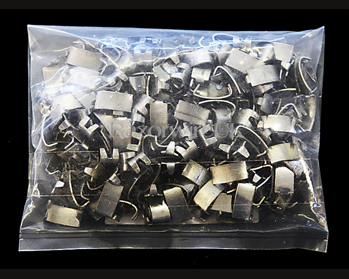 Dove Tail Clips 0.5 Kg Stainless Steel