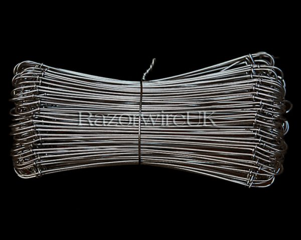 "RazorwireUK Wire Ties 6"" Stainless Steel"