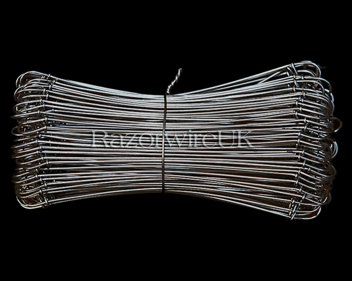"Wire Ties 6"" Stainless Steel"